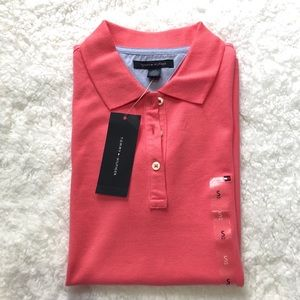 🌺 New Tommy Hilfiger Polo Shirt Women Size Small